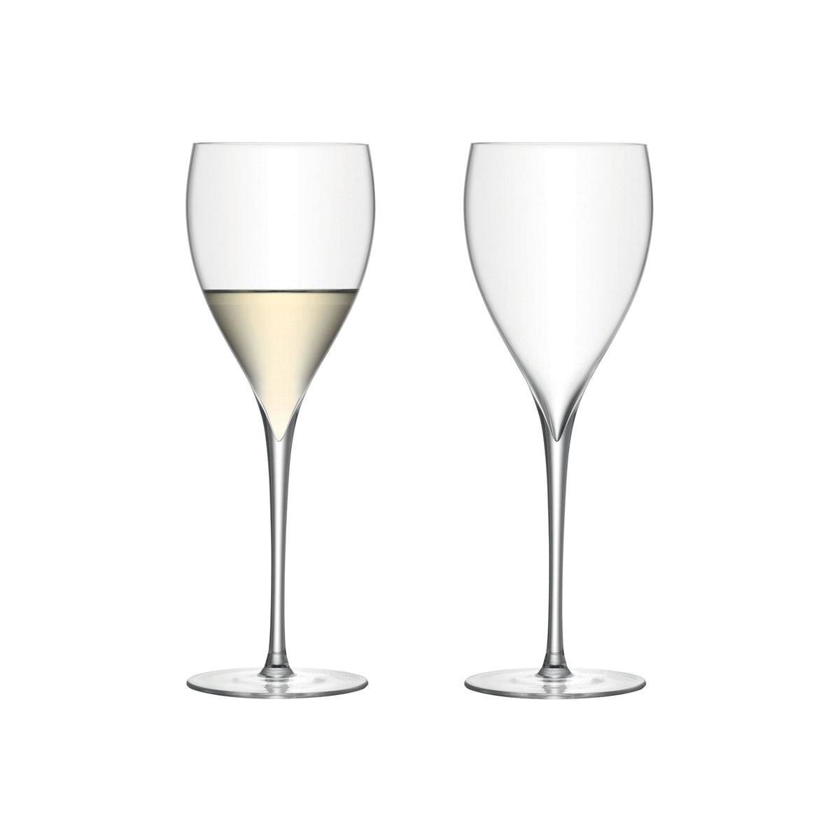 Savoy White Wine Glasses 12oz, Set of 2