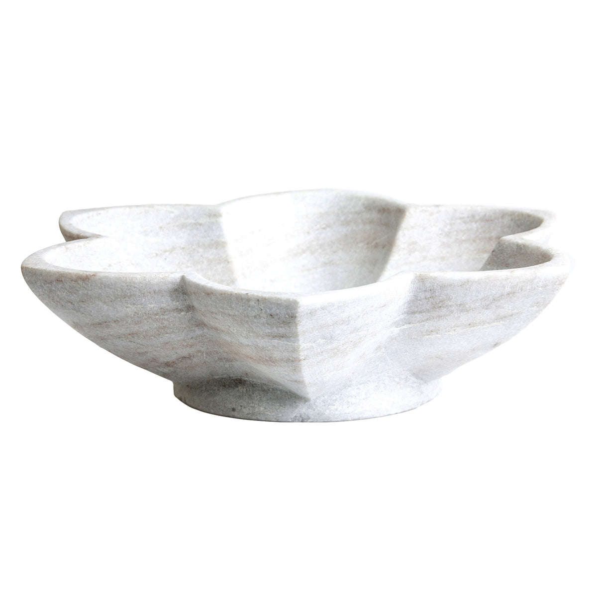 Jasmine Marble Star Centerpiece Bowl