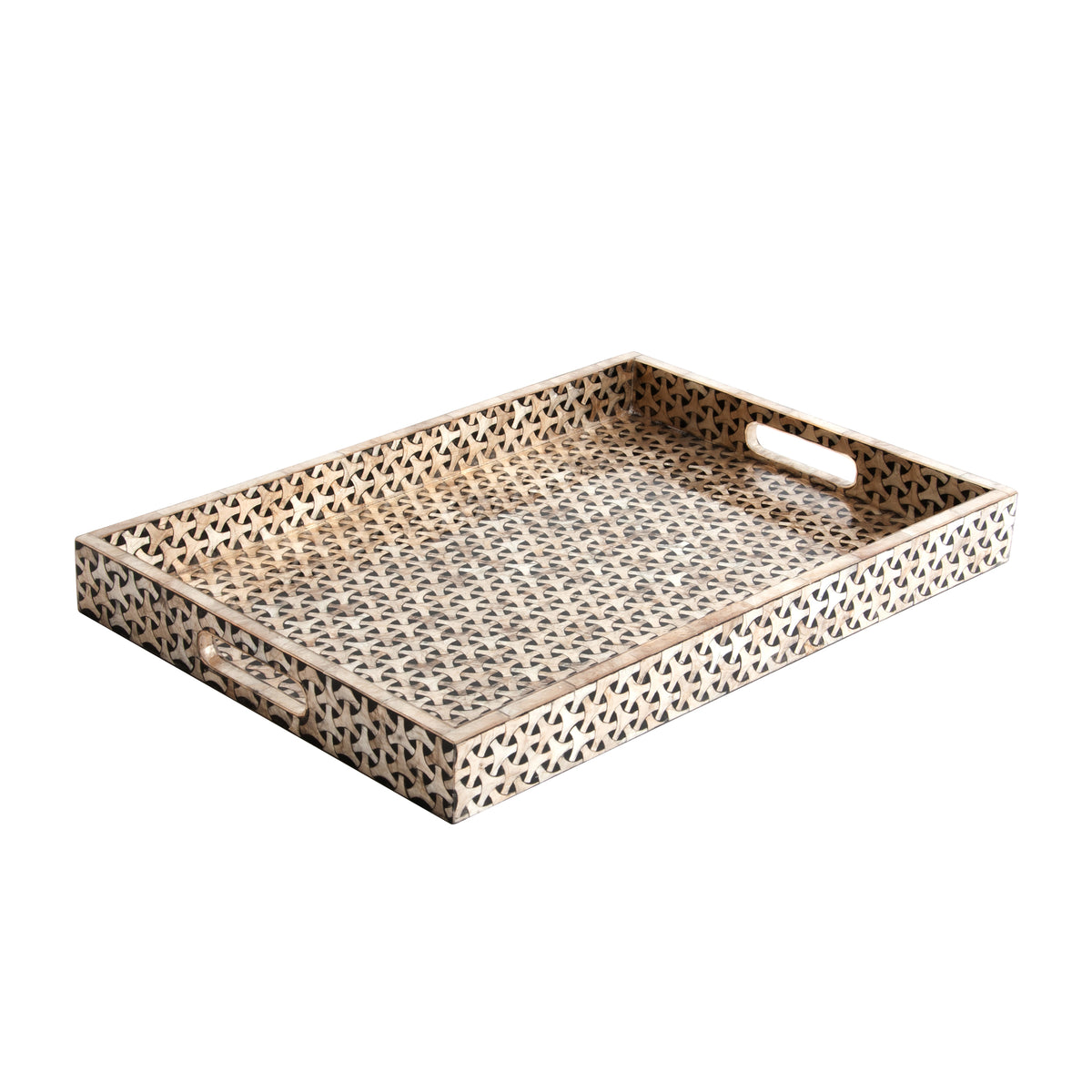 Killian Large Brown Tray
