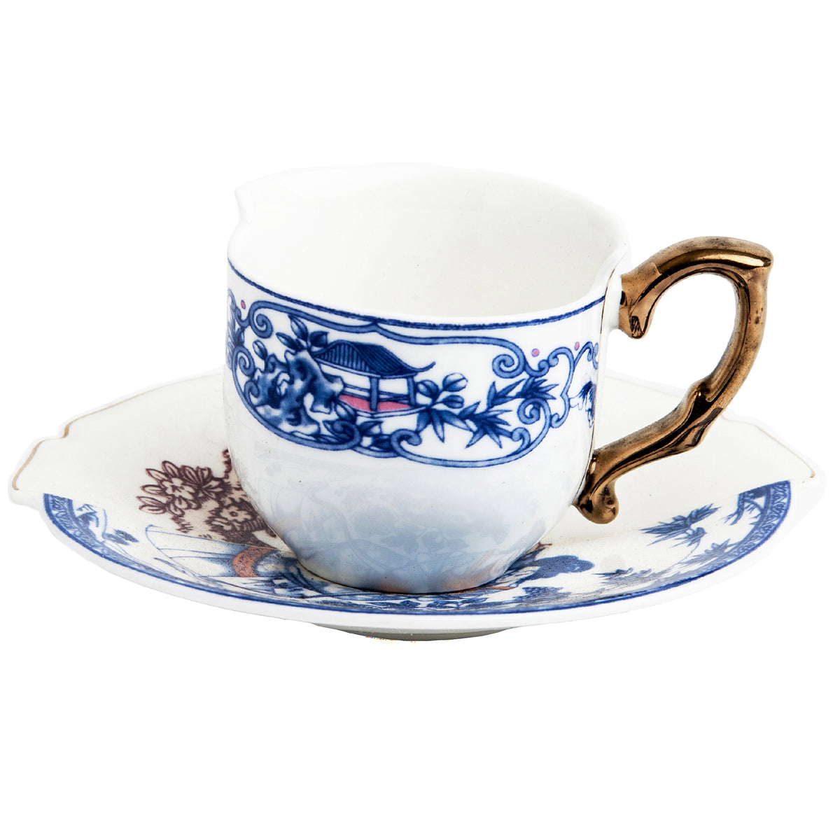 Hybrid Eufemia Coffee Cup with Saucer