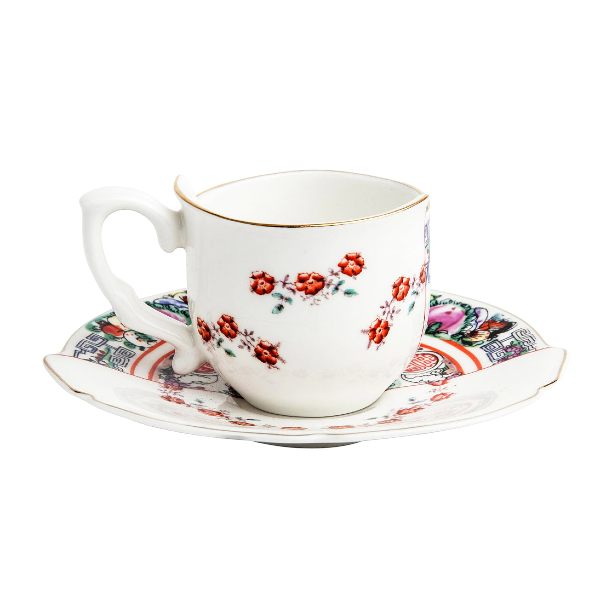 Hybrid Tamara Coffee Cup with Saucer