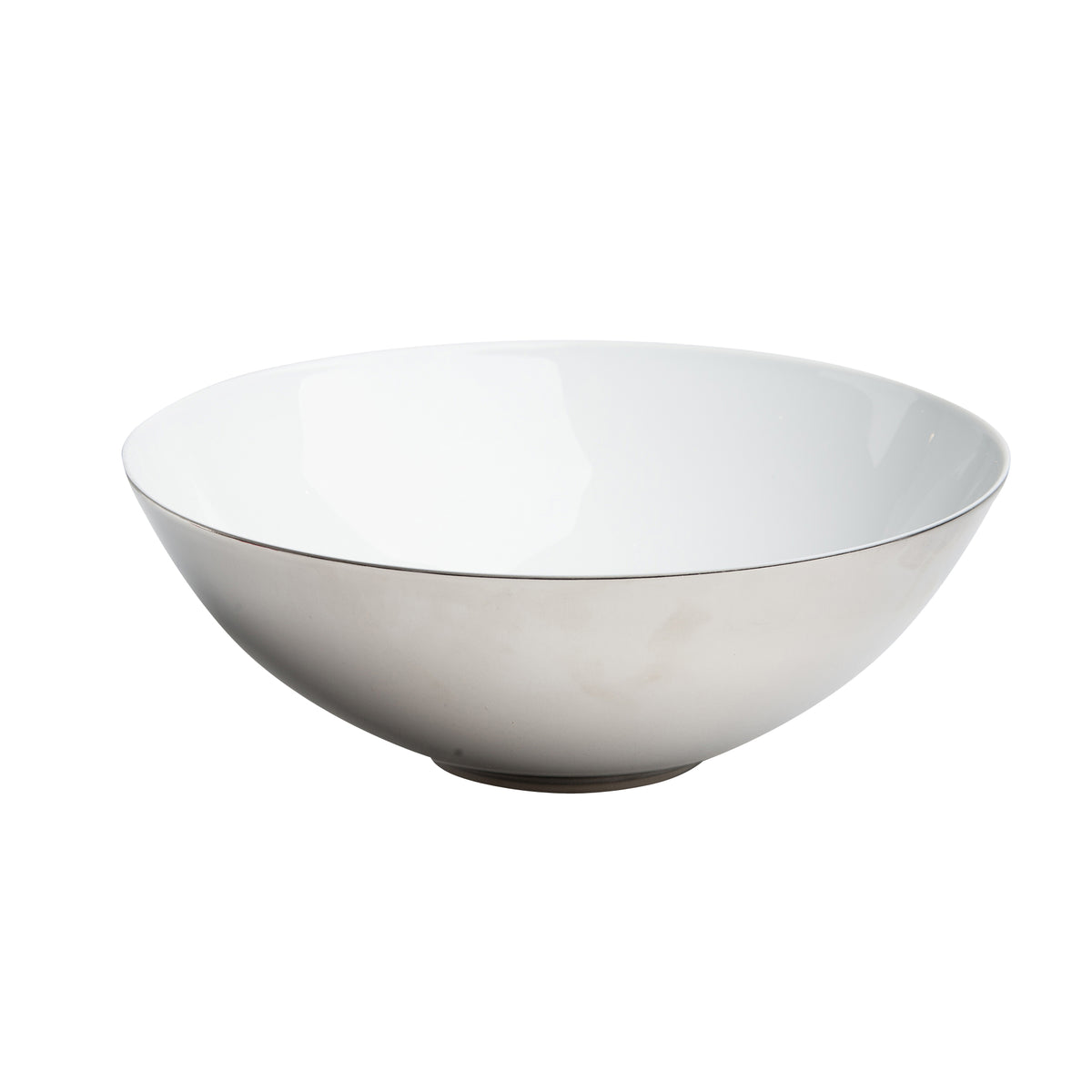 Skin Platinum Porcelain Vegetable Bowl