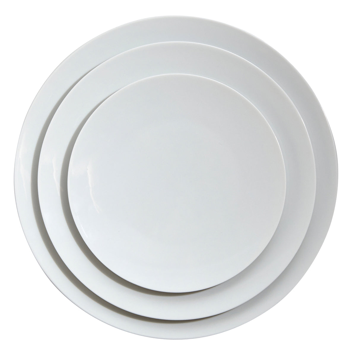 Tac 02 White Porcelain Service Plate