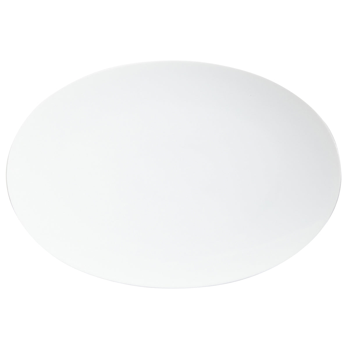 Tac 02 White Porcelain Platter Medium