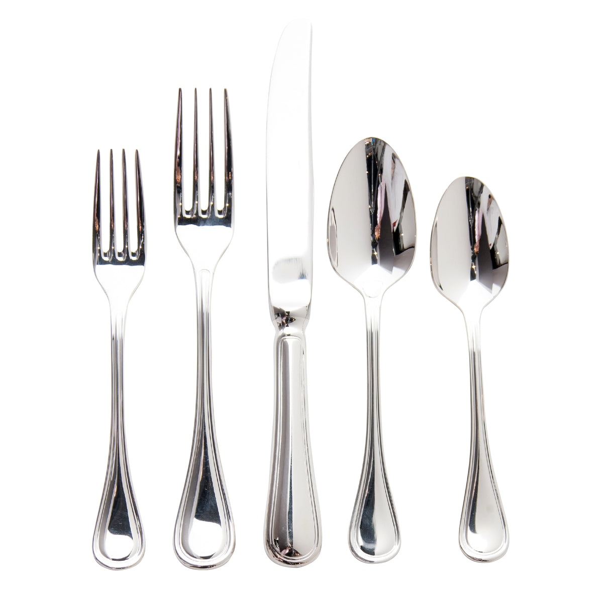 Lyrique 5-Piece Silver Plate Flatware