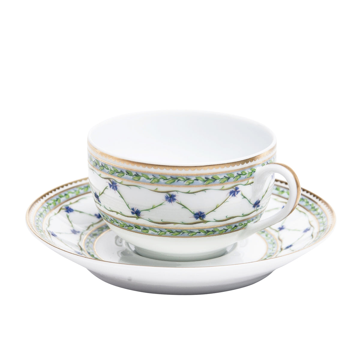 Allee Royale Porcelain Tea Cup and Saucer