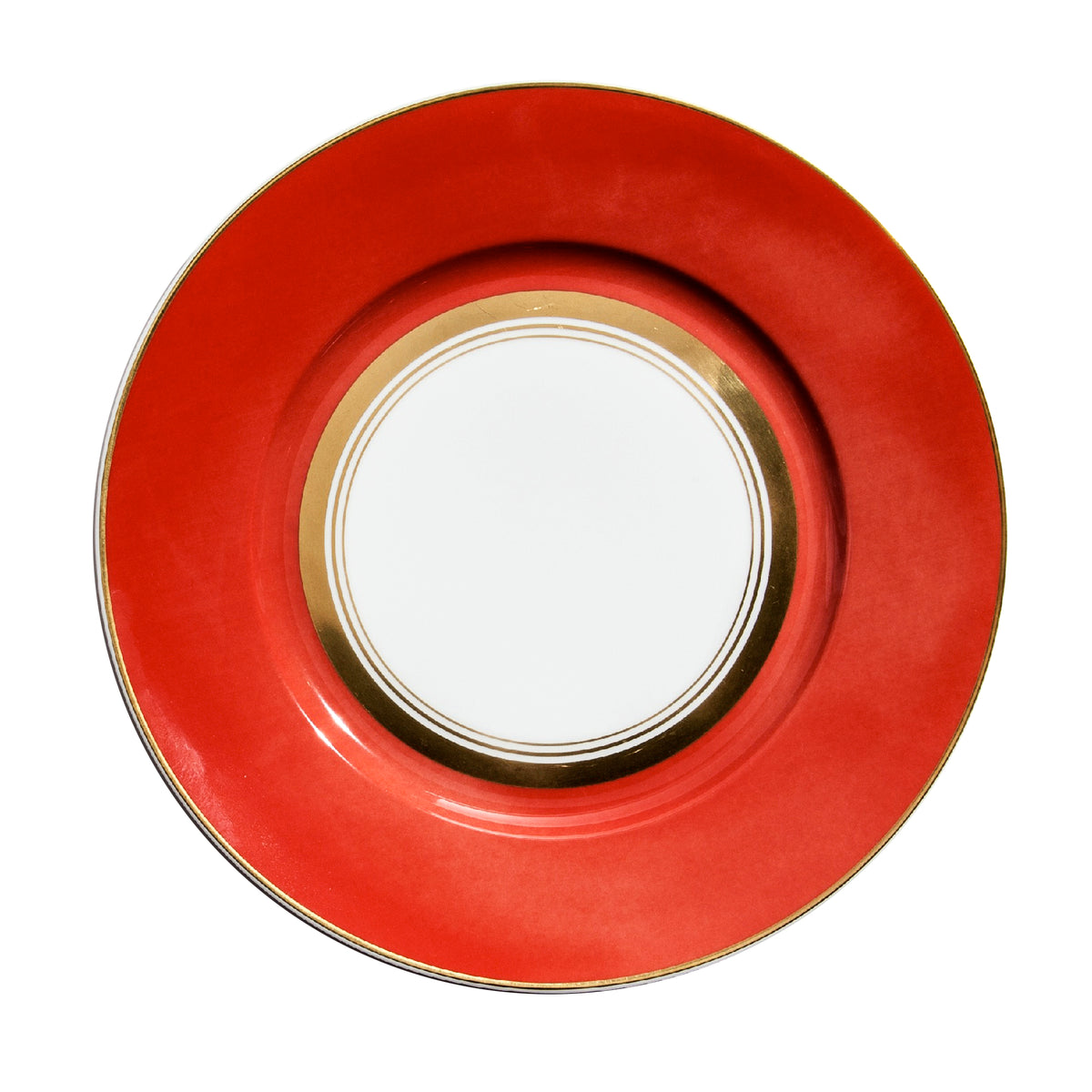 Cristobal Coral Porcelain Dinner Plate