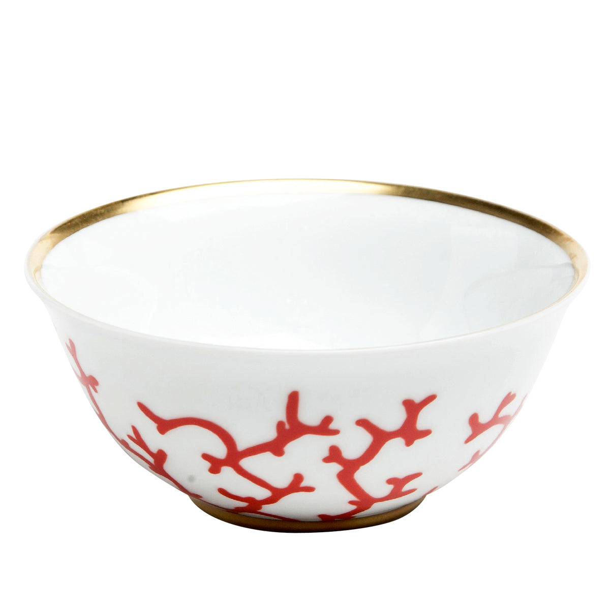 Cristobal Coral Porcelain Rice Bowl