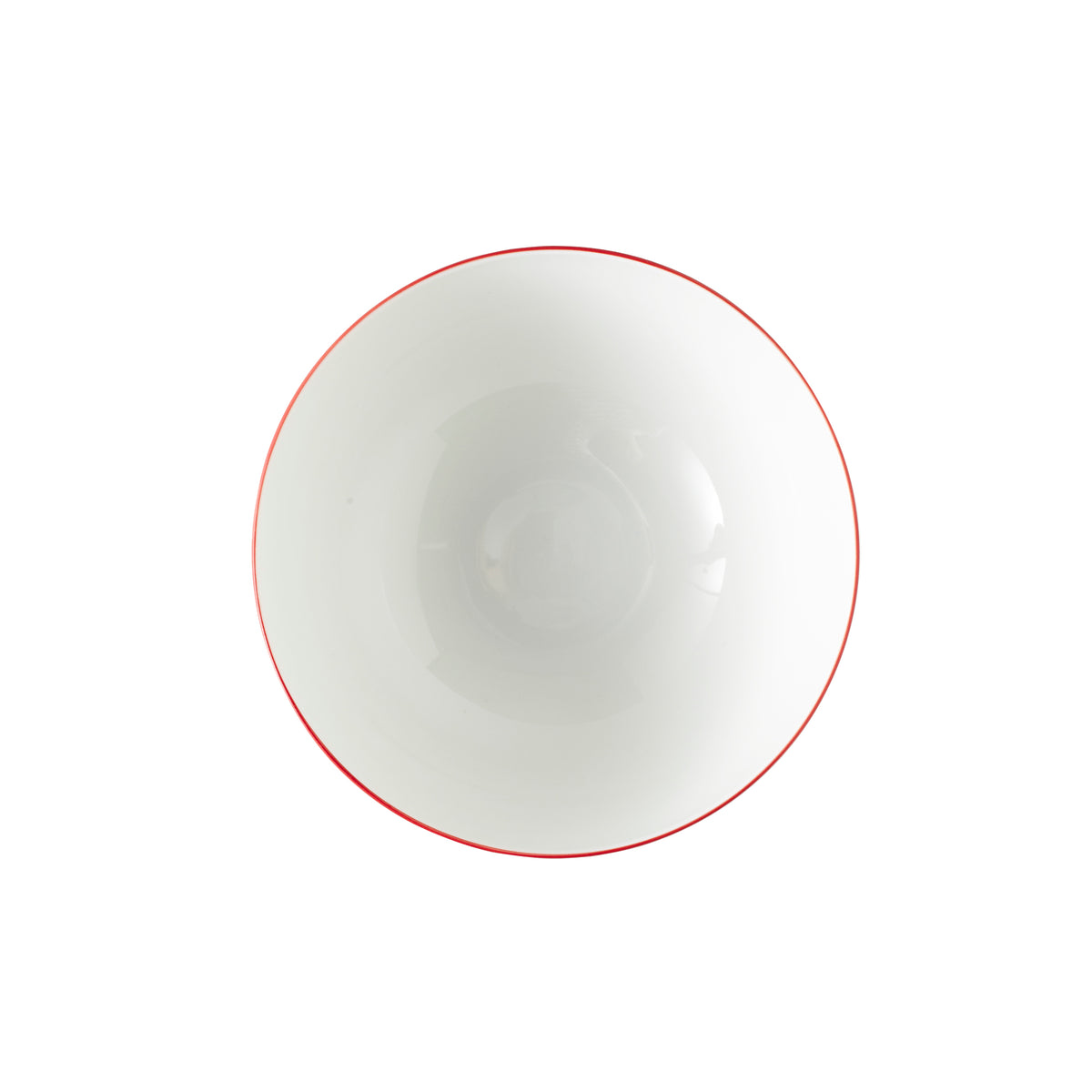 Monceau Red Porcelain Bowl