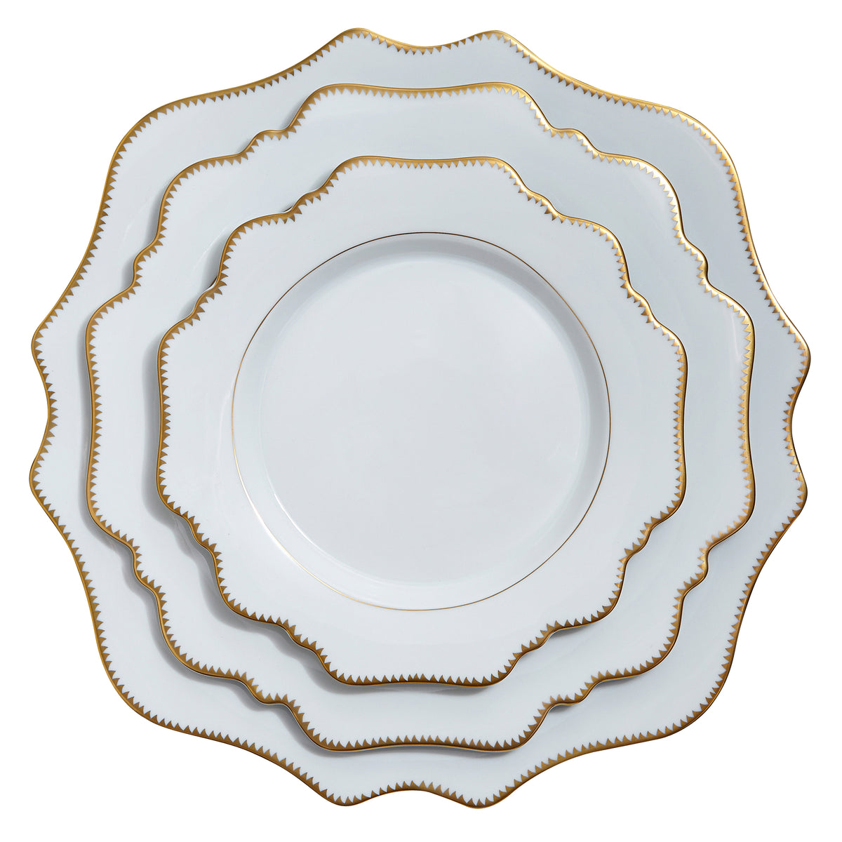 Simply Anna Antique Charger Plate