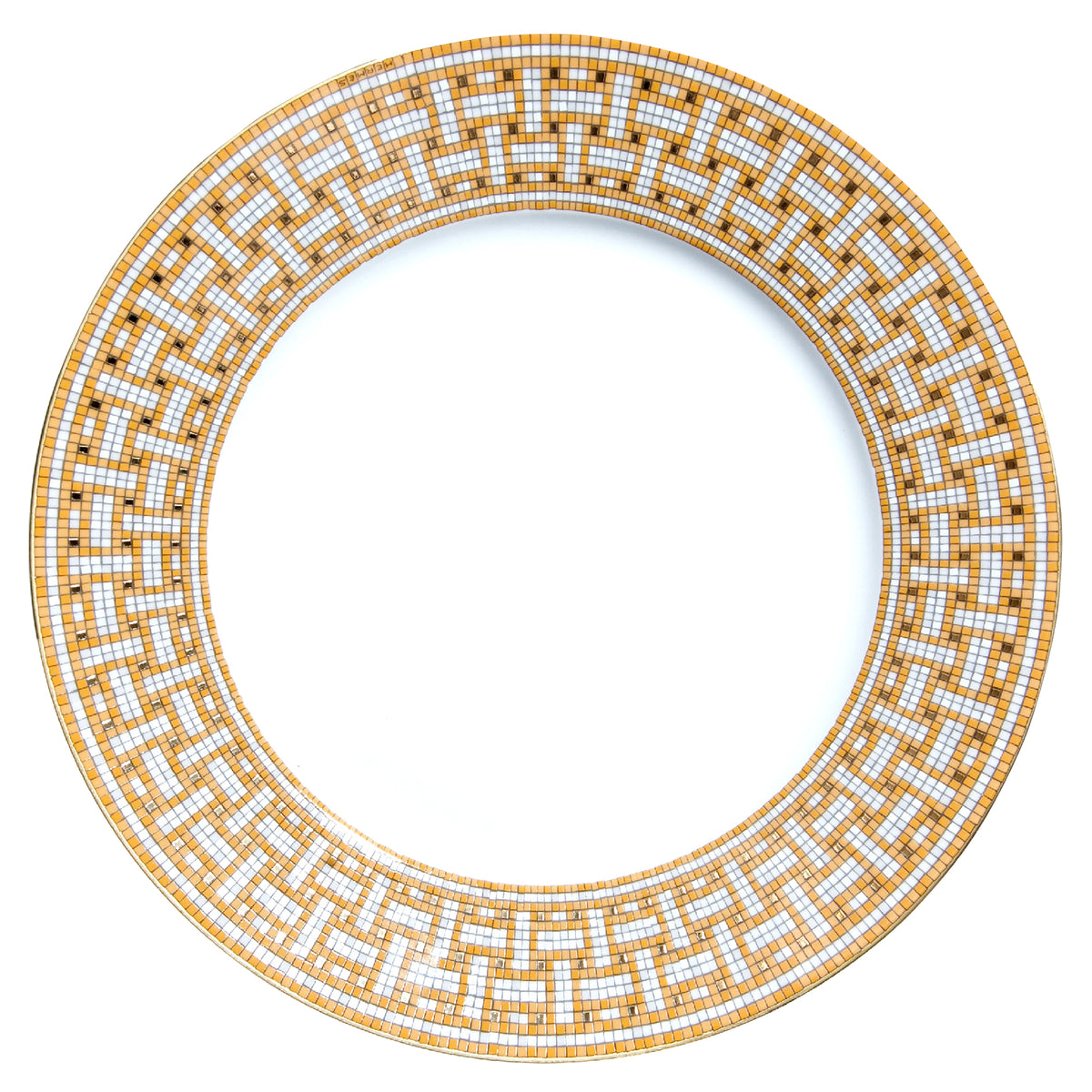 Mosaique Au 24 Gold American Dinner Plate