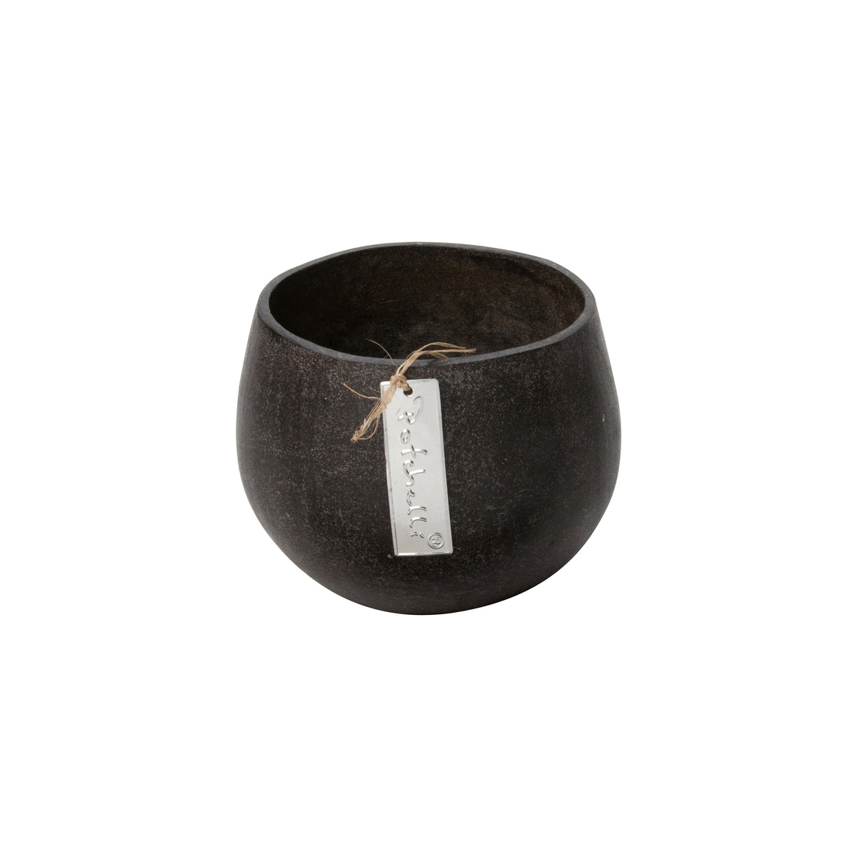 Stone Cache Grey Flower Pot