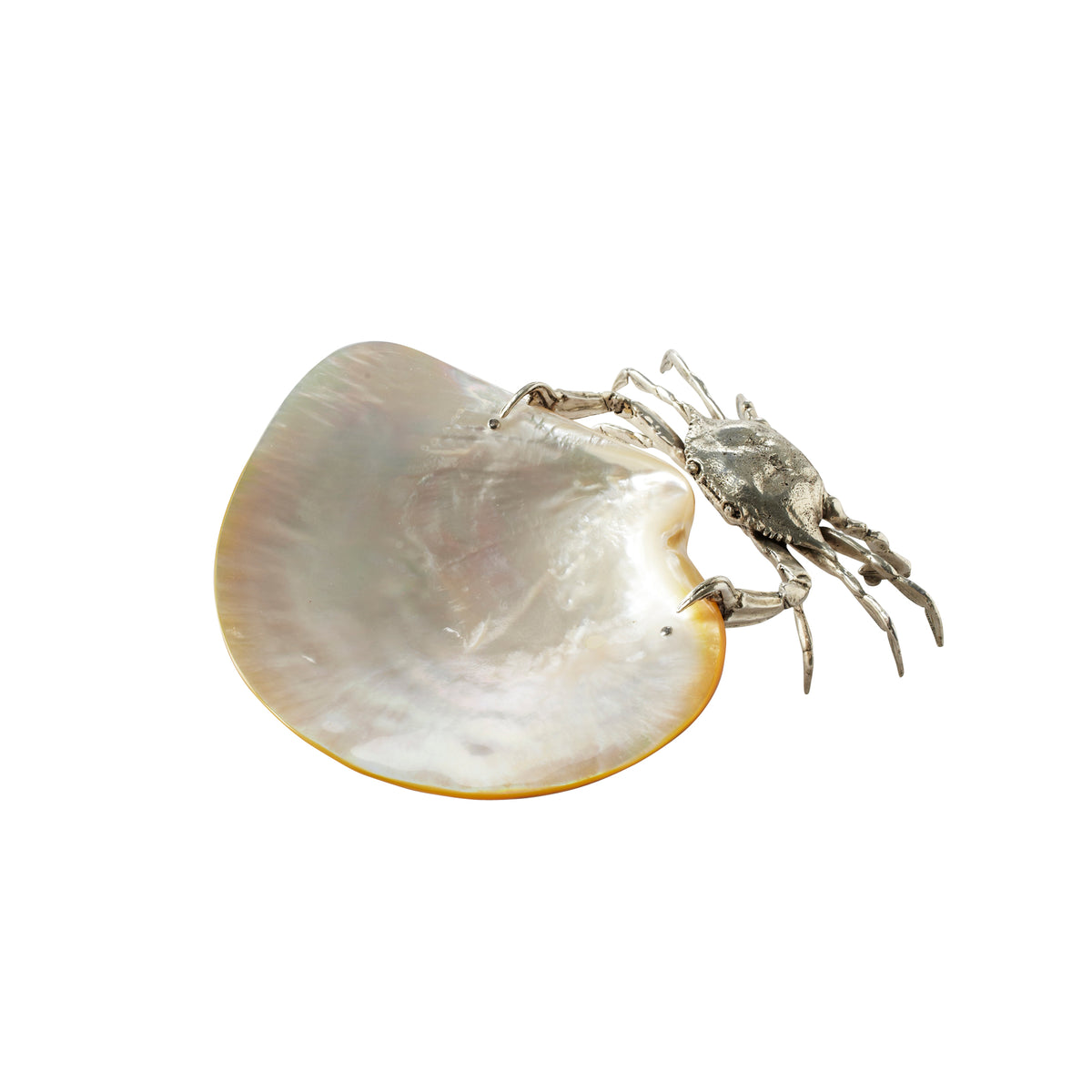 Crab with Mother-of-Pearl Shell