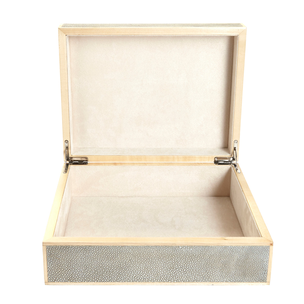 Cooper Small Sand Textured Shagreen Box