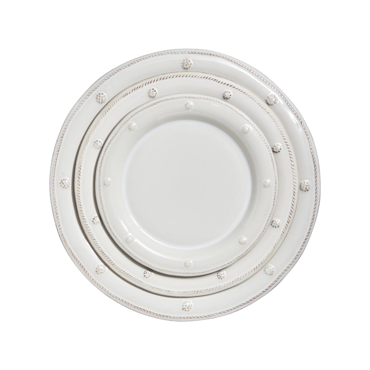 Berry and Thread White Dinner Plate