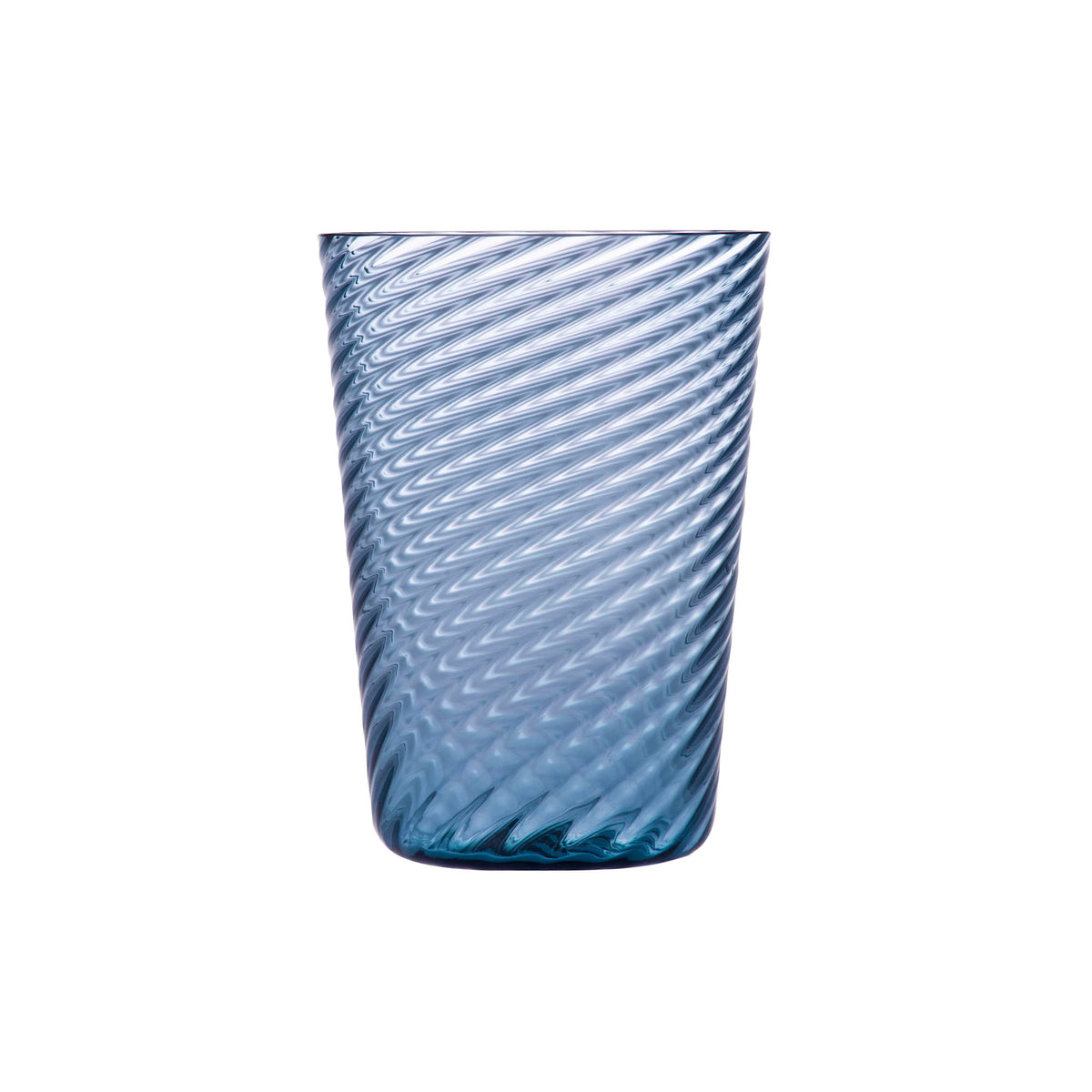 Steel Blue Twist Tumbler