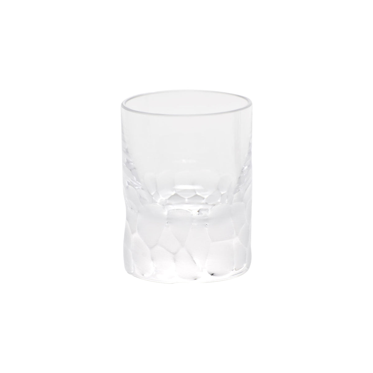 Clear Pebbles Shot Glass