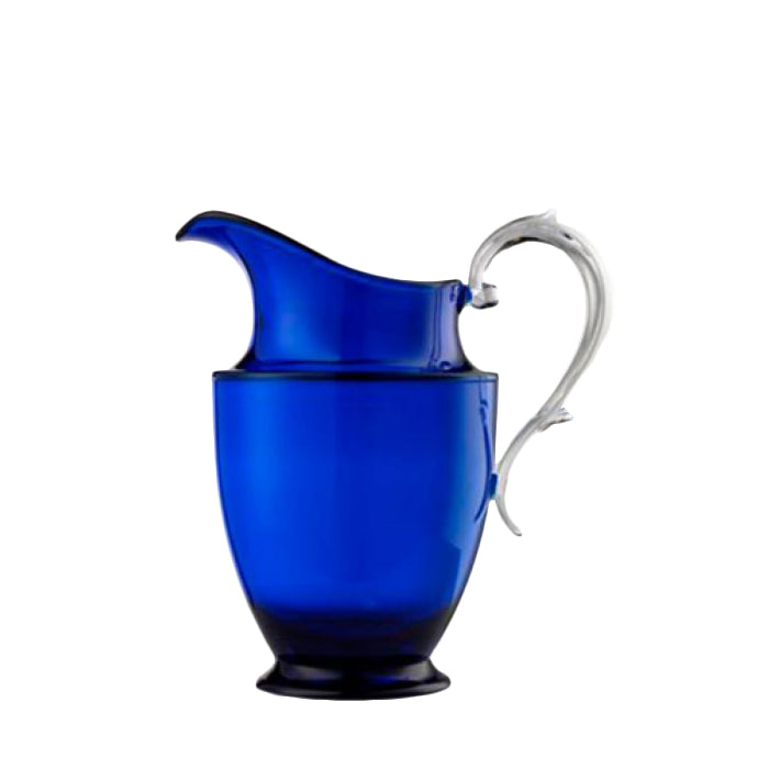 Federica Blue Pitcher