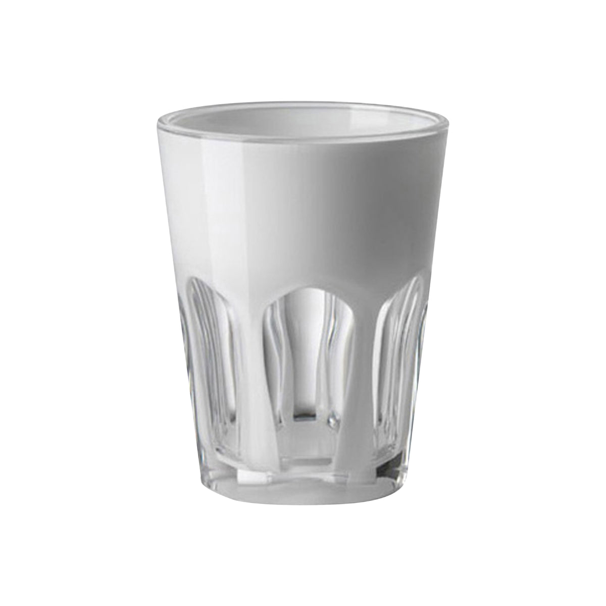 Acrylic White Double Face Tumbler