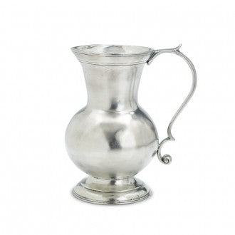 C. Large Pewter Pitcher