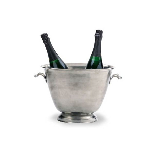 C. Pewter Double Champagne Bucket