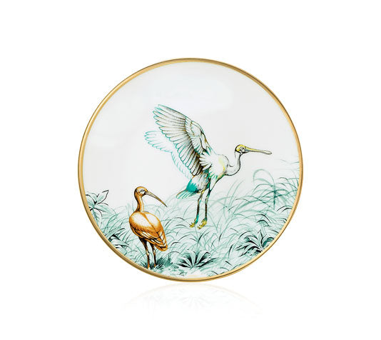 Carnets d'Equateur Bread and Butter Plate, Birds Theme, 5.5""