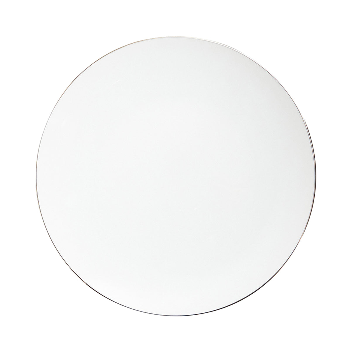 Platinum Filet Porcelain Dinner Plate