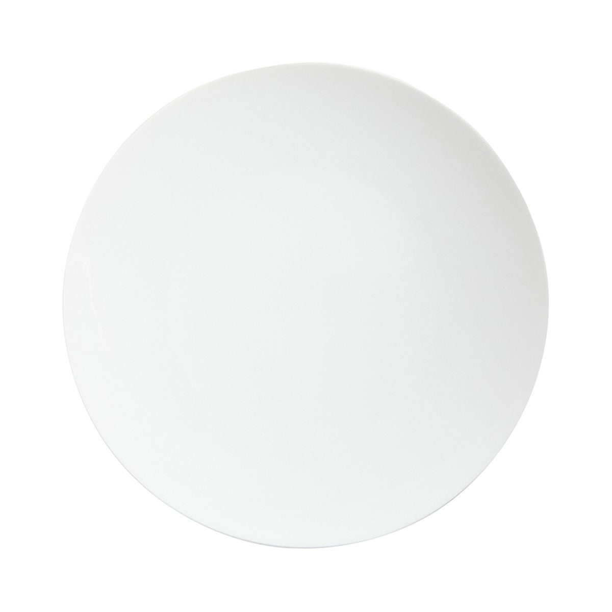 Tac 02 White Porcelain Dinner Plate