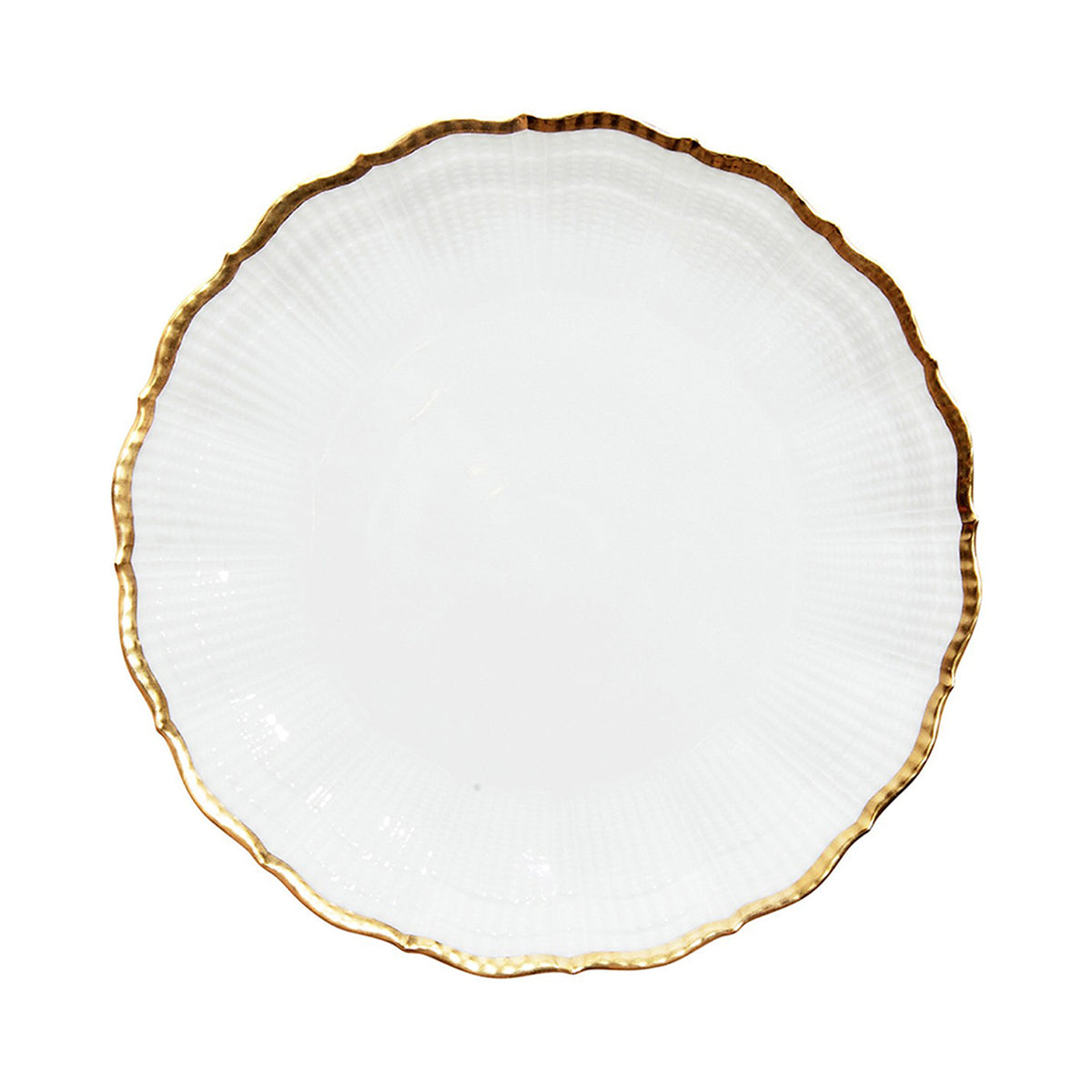 Corail Or Porcelain Dinner Plate