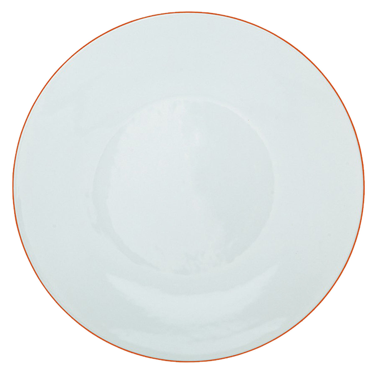 Monceau Orange Porcelain Buffet Plate
