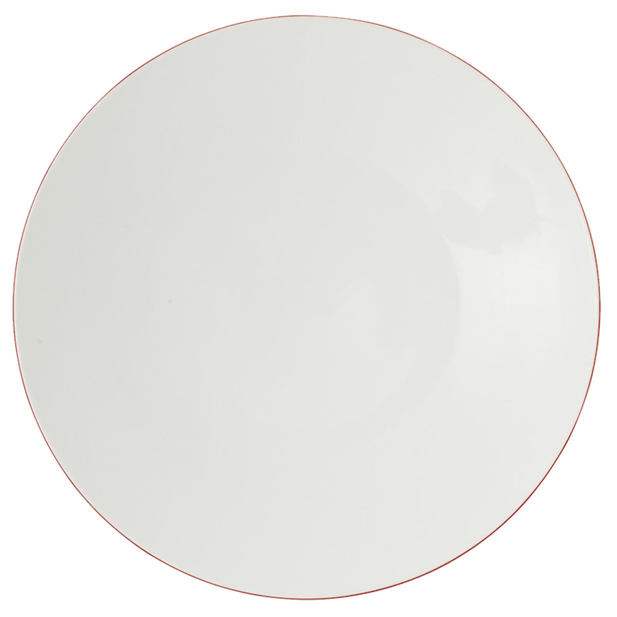 Monceau Red Porcelain Buffet Plate