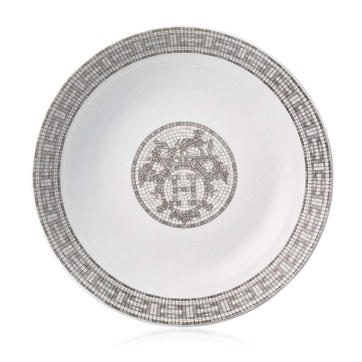 Mosaique Platinum Cereal Plate