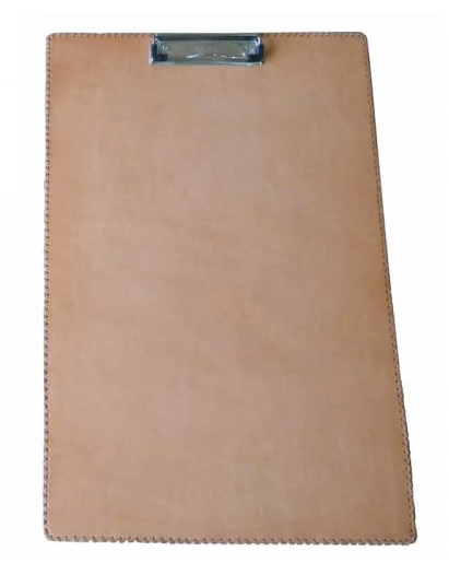 Large Clipboard, Natural Leather