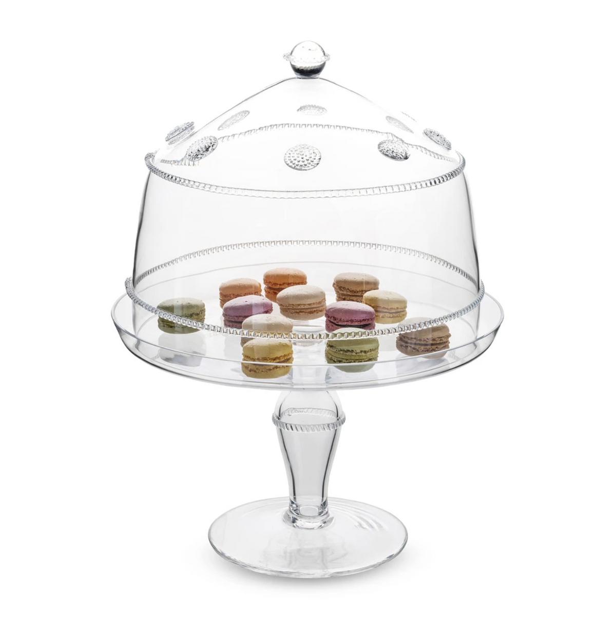 Large Isabella Cake Dome and Pedestal