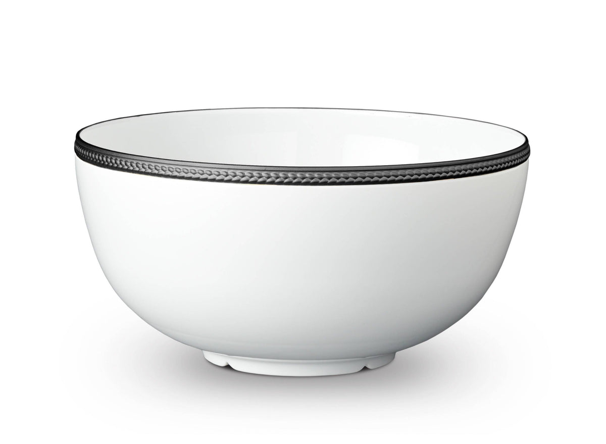 Soie Tressée Bowl - Large - Black