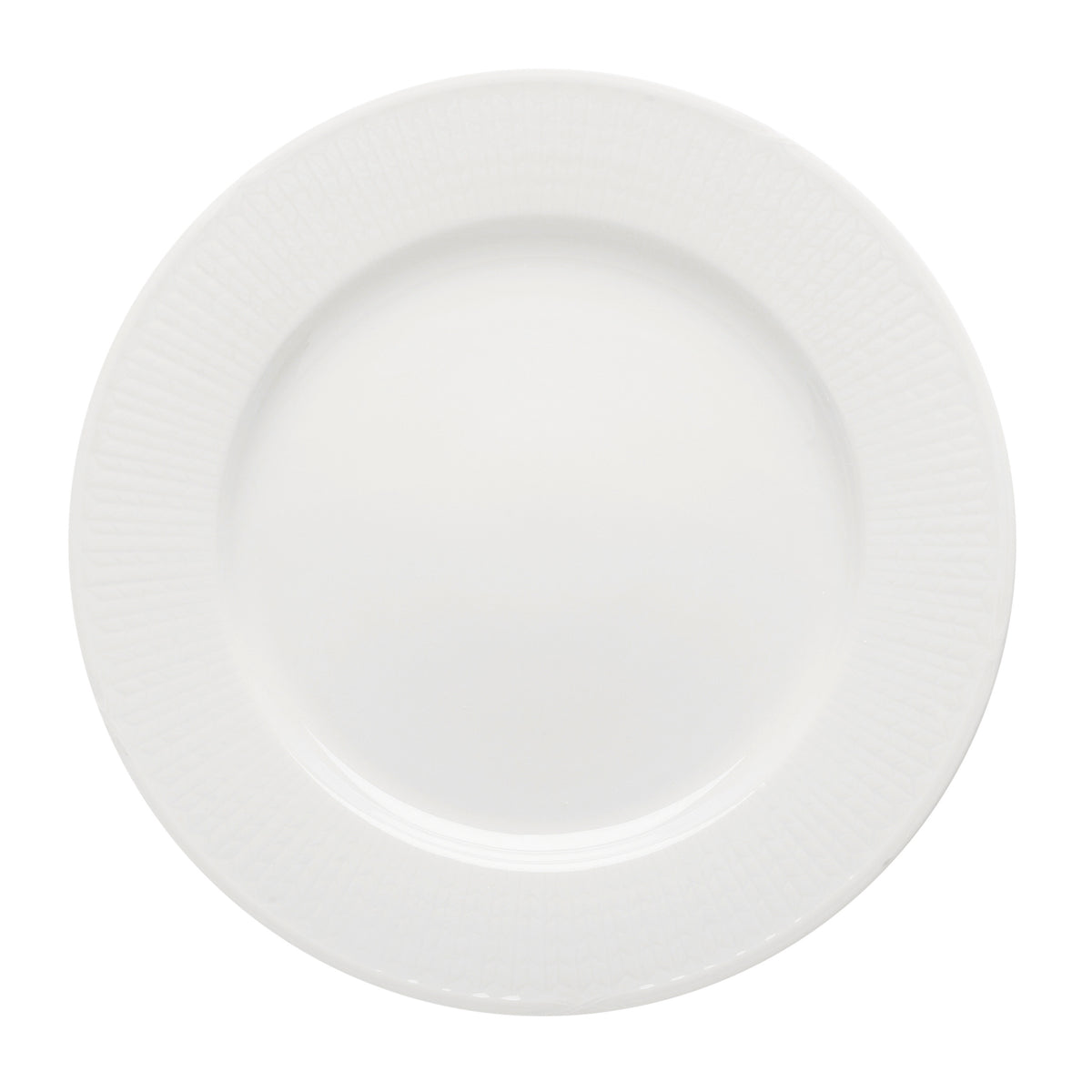 Swedish Grace Dinner Plate Snow
