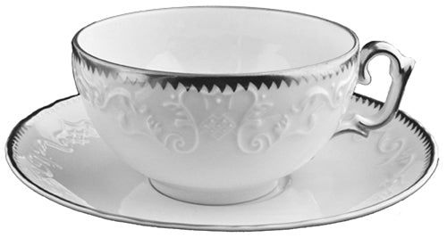 Simply Anna - Platinum Tea Saucer