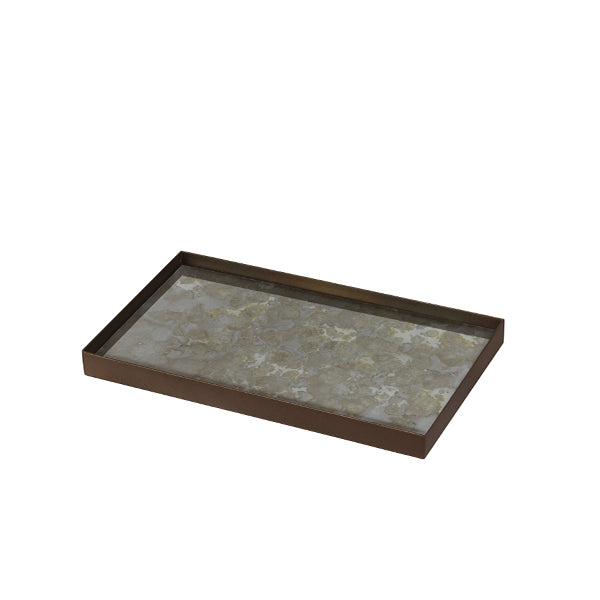 Fossil Organic Small Rectangular Mini Tray