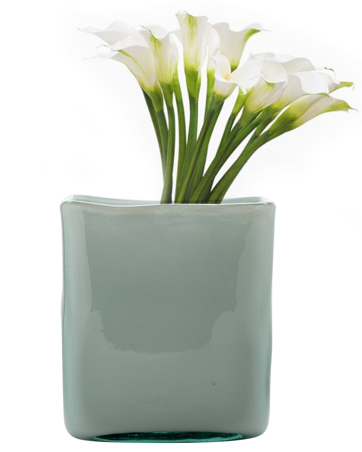 Large Lilly Handblown Vase