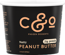 Load image into Gallery viewer, Nutty Peanut Butter - Half Pint
