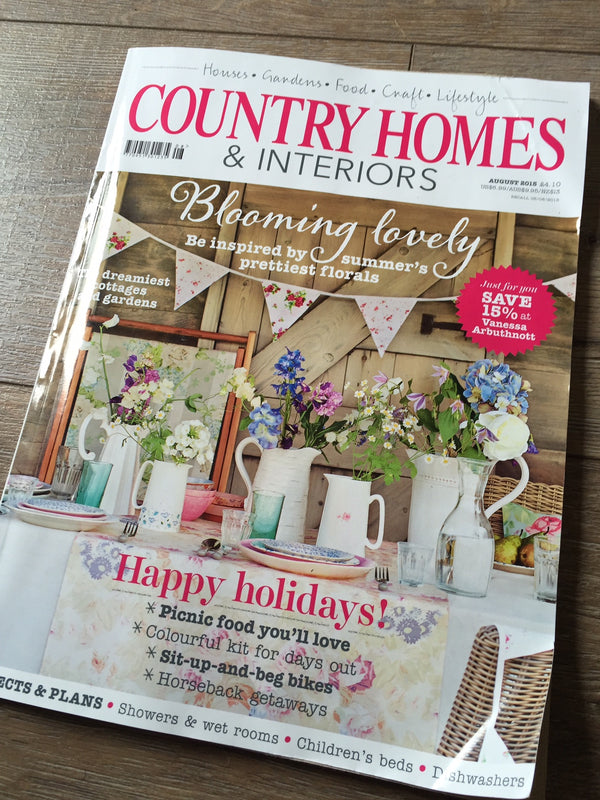 COUNTRY HOMES AND INTERIORS – WAY HEY!