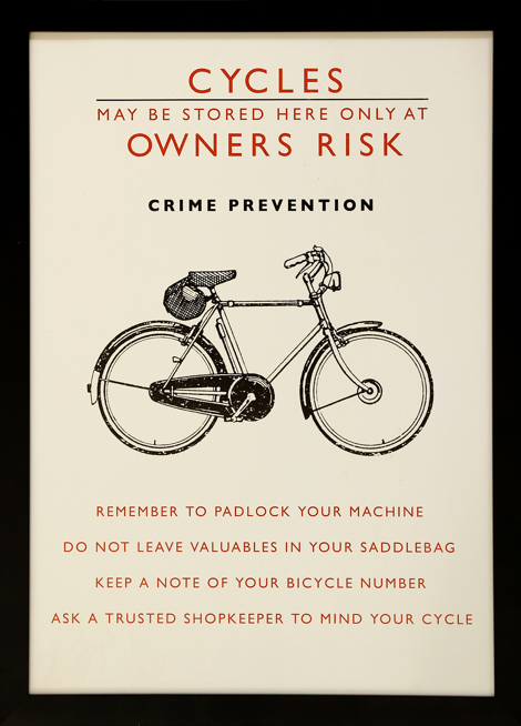 LOCK UP YOUR… BICYCLES!