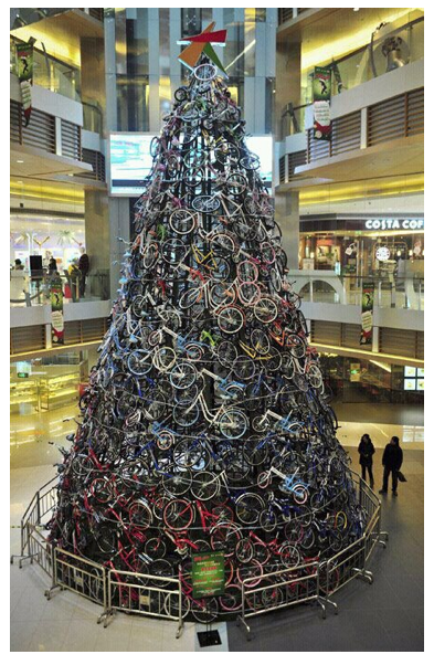 DECK THE HALL WITH BIKES OF HOLLY!!!