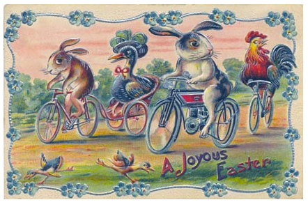 HAPPY EASTER CYCLING….