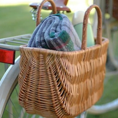 WICKER PANNIER BASKET-  SWING