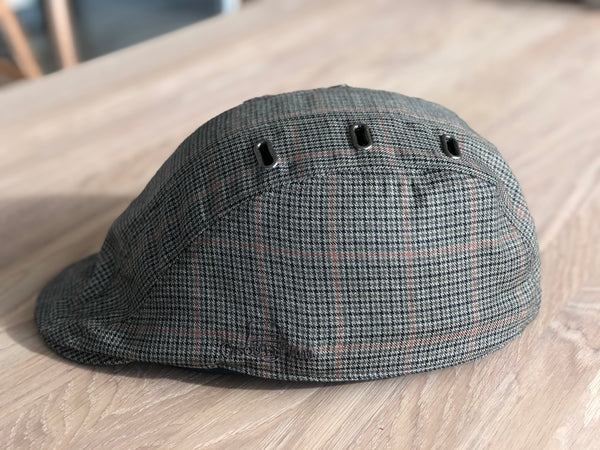 HIS & HERS TWEED CAP AND HELMET