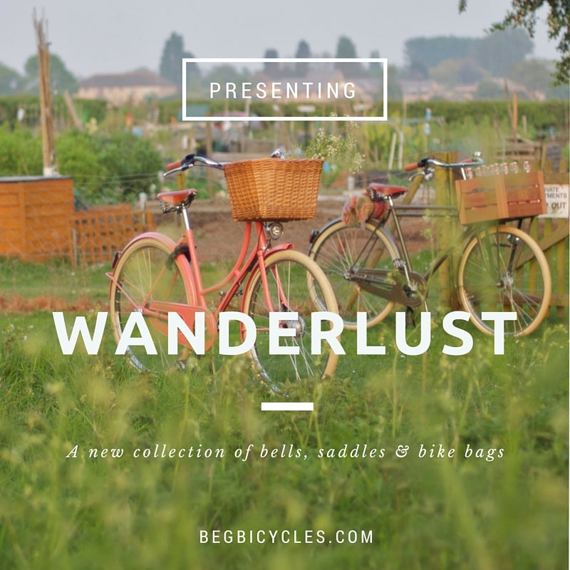 BASIL WANDERLUST DOUBLE PANNIERS  Charcoal or Natural
