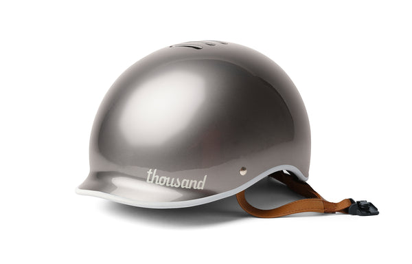 THOUSAND HELMET POLISHED TITANIUM
