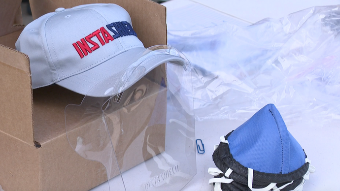 Heart of West Michigan United Way distributes face shields to nonprofits in Grand Rapids
