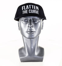 Load image into Gallery viewer, Navy 'Flatten the Curve' Hat